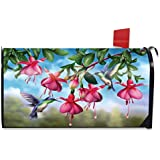 Briarwood Lane Flight of The Hummingbirds Spring Magnetic Mailbox Cover Floral