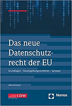 Book Das neue Datenschutzrecht in der EU
