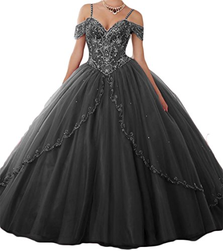 long black puffy dresses - 8