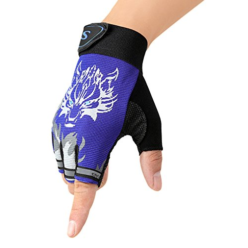 Children Cycling Fingerless Gloves