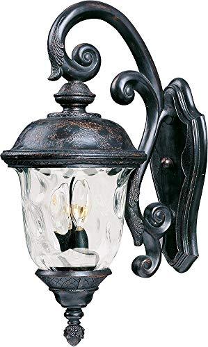 Maxim Lighting 20496WGOB Carriage House VX 2-Light Outdoor Wall Lantern,OrientalBronze
