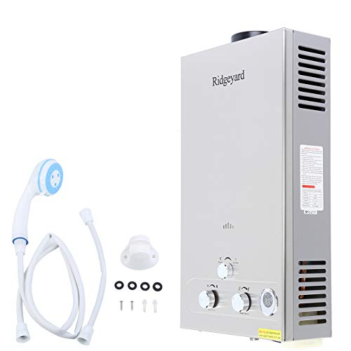 Ridgeyard 12l 3 2gpm Digital Display Lpg Propane Gas