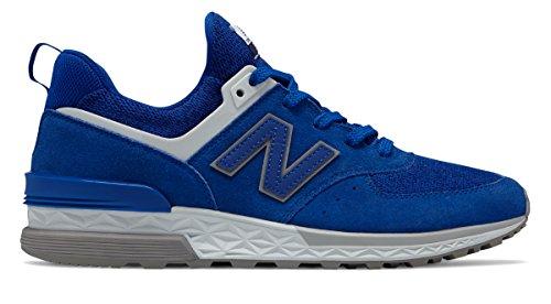 (ニューバランス) New Balance 靴?シューズ メンズライフスタイル 574 Sport Blue Bell with Grey ブルー ベル グレー US 4.5 (22.5cm)