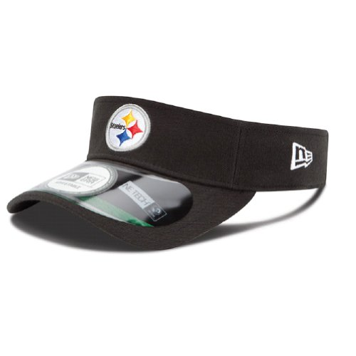 Pittsburgh Steelers Black New Era On Field Visor Hat Cap