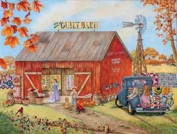 - SunsOut Quilt Barn Puzzle 500pc