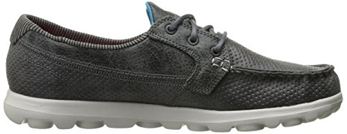 Skechers Performance Damen On-Dem-Go Flagship Slip-On Bootsschuh Holzkohle
