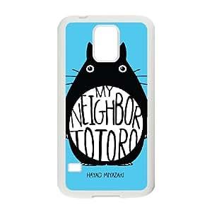 Samsung Galaxy S5 Cell Phone Case White My Neighbor Totoro MW3567950