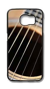 Samsung Galaxy S6 Edge Customized Unique Hard Black Case Gibson Guitar Case S6 Edge Cover PC Case