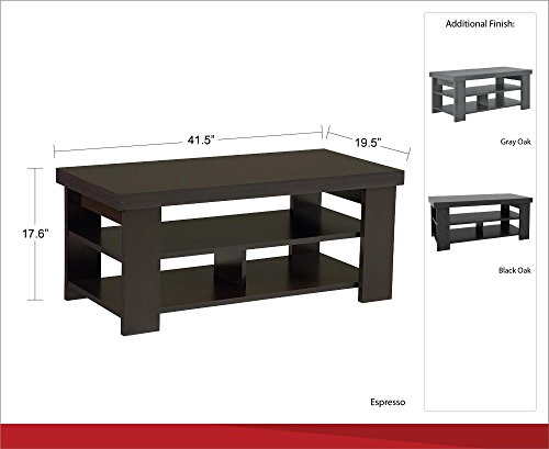 Ameriwood Home 5187096COM Jensen Coffee Table by Ameriwood Home (Image #8)