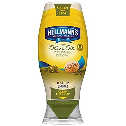 ayonnaise Dressing with Olive Oil Package of 2- 11.5 fl z containers ()