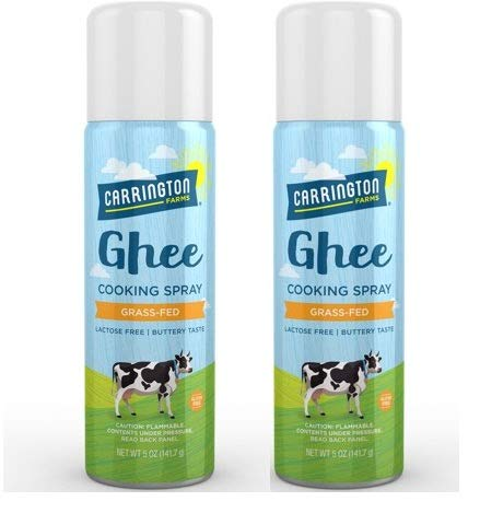 Carrington Farms Ghee Cooking Spray, 5 Ounce (Pack of 2)