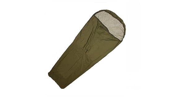 British Army-Bolsa para bivouac de 1 fila tejido Goretex Verde vert - Vert olive: Amazon.es: Deportes y aire libre