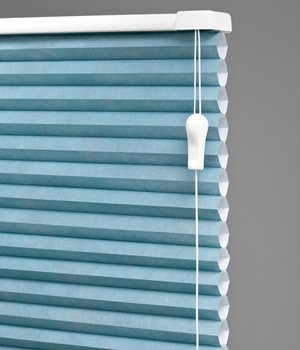 Made-to-Order Discount Single Cell Shades, 1/2 Inch Honeycomb Cellular Shades, 81W x 57H, Snow
