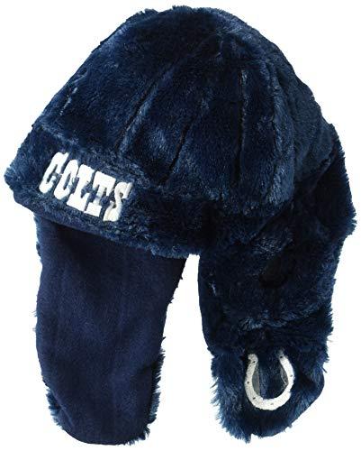 ばかげたスポット鋭くNFL Indianapolis Coltsレトロショートヘルメット帽子、ブルー