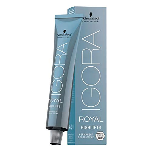 🥇 Schwarzkopf Igora Royal Highlifts Coloración Permanente en Crema para el Cabello 12-11 – 60 ml.