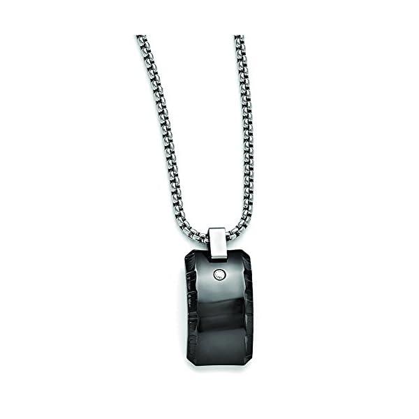 Edward-Mirell-Black-Ti-10ctw-Diamond-Polished-Pendant-Necklace-EMN144