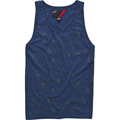 Alpinestars Mens Triad Tank Shirt, Navy, Large