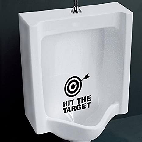 Skyllc/® HIT The Target Bathroom Toilet Potty seat Boys Training Target Decal Sticker