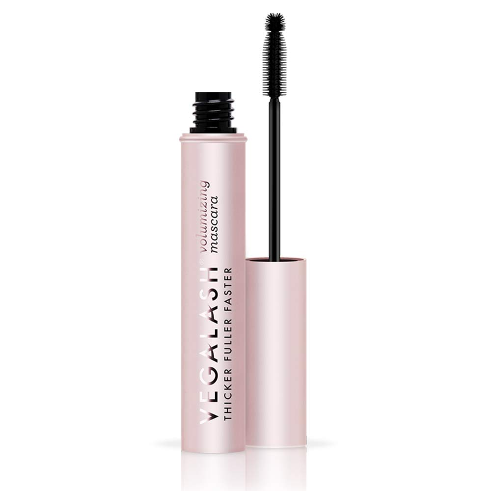 VEGAMOUR Vegalash Volumizing Mascara (Black/Noir) - Vegan Cruelty-free Mascara with Eyelash Enhancement Serum, Natural Plant Based Formula Conditions and Nourishes Lashes for Healthy Growth