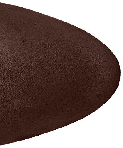 Buffalo London 2861 Micro Strech, Stivali Donna Marrone (Marron150)