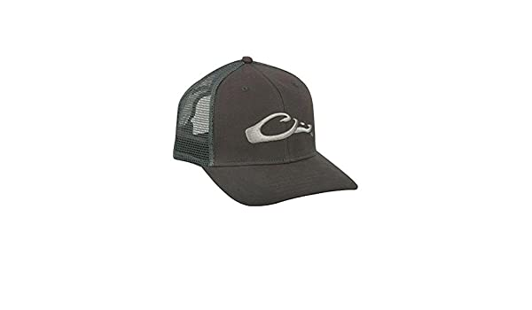 273961b2012 Amazon.com  DRAKE MESH-BACK FLAT BILL CAP  Clothing