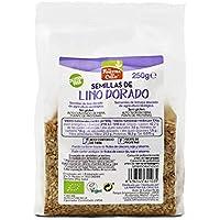 Semillas de lino dorado pulido bio gluten free