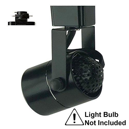 - D&D Brand H System GU10 Line Voltage Track Lighting Fixture Black HA-4519-BK ( No Bulb )