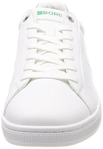 T305 BORG Mehrfarbig Low green M Sneaker CLS Herren BJORN White 1FwE4qTq