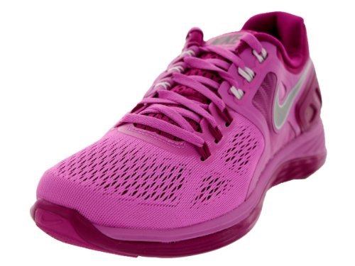 Nike Womens Lunareclipse 4 Running Shoes Red Violet/Magenta/White/Reflect Silver