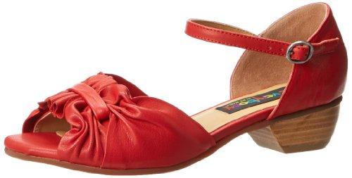 Everybody Women's Abelle Dress Sandal,Flame Red,38 EU/8 M US