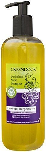 500 ml GROSS-Packung, Natur Shampoo Lavendel Bergamotte für strapaziertes trockenes Haar, basische BIO Haarpflege ohne Sulfate & ohne Silikon & ohne Konservierungsmittel