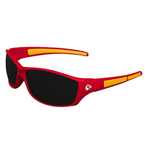 FOCO NFL Kansas City Chiefs Sports Fan Sunglasses, Team Color, One Size ()