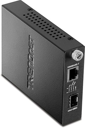 TRENDnet Intelligent 1000Base-T to SFP Media Converter, TFC-1000MGB (Slot Snmp Chassis)