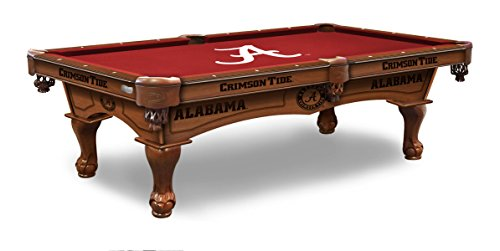 (Holland Bar Stool Co. Alabama 8' Logo Pool Table)