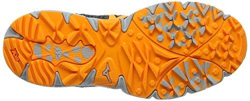 Asfalto tx Para 3 Eu Running Mujer w Pop G Gris high rise naranja Kien Shadow orange De Wave dark Zapatillas 39 Mizuno Gris Iqv4n