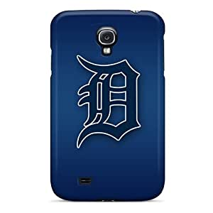 Shockproof Hard Phone Case For Samsung Galaxy S4 With Custom Vivid Detroit Tigers Pictures LauraAdamicska