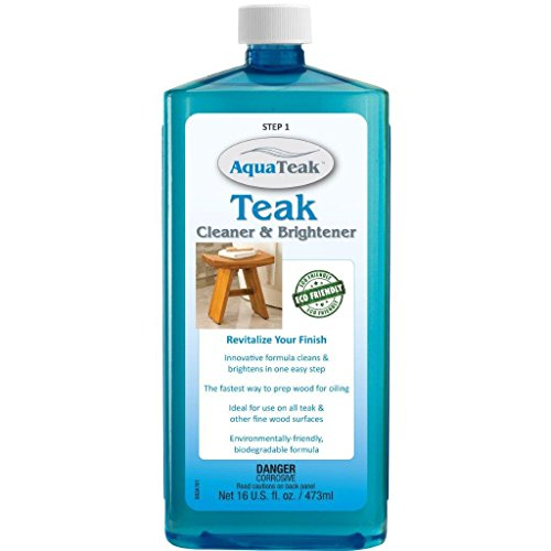 The Original Kai Corner Teak Bath Shelf & AquaTeak Two-Step Care Kit by AquaTeak (Image #5)