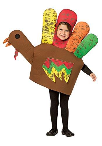 Hand Turkey Kids Costume (Child Turkey Costume)