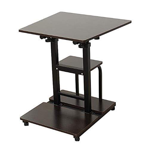PingFanMi Multi-Function Office Home Sitting Lift Mobile Computer Desk Notebook Table, Floor-Standing Desk, Storage Desk