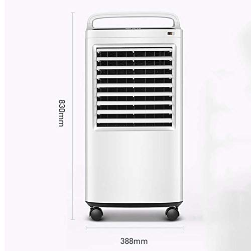 Desktop Fan Home Fan Mobile Air Conditioners Air Cooler Air Conditioner Fan Evaporative Humidifier Air Purifier Air Freshener Household Small-scale Mobile Soft Wind Table Desk Fan for Home and Travel by Gelaiken (Image #1)