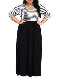 Women's Chevron Print Summer Short Sleeve Plus Size...