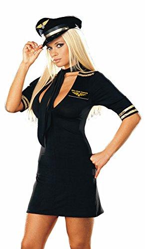 Mile High Plus Size Costumes (Mile High Captain Costume - Plus Size 3X/4X - Dress Size 18-20)