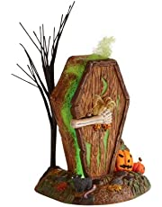 Department 56 Accessories for Villages Halloween Dying to Get in Outhouse Accessory Figurine