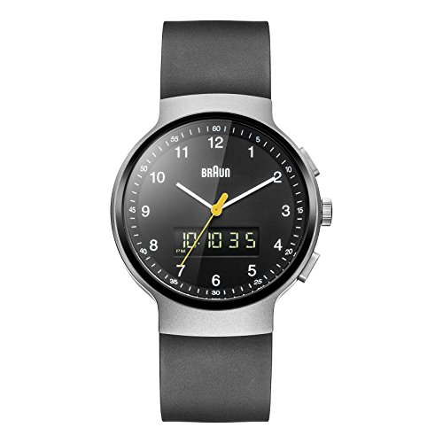 Braun Men's BN0159SLBKBKG Analog Digital Analog-Digital Display Japanese Quartz Black Watch
