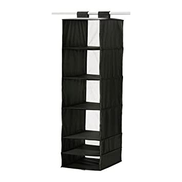 Ikea Skubb Hanging Clothes Closet Storage Organizer Rack Black