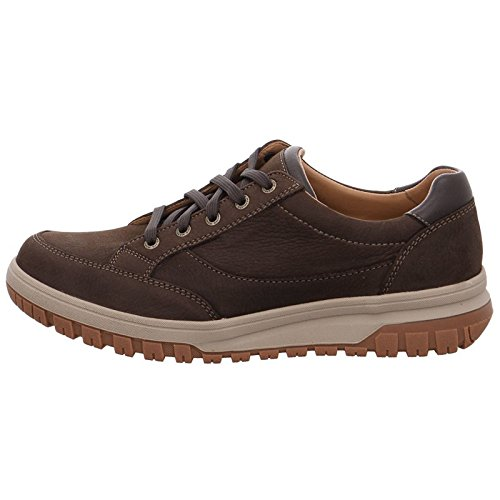 Mephisto Mens Paco Leather Shoes Chestnut
