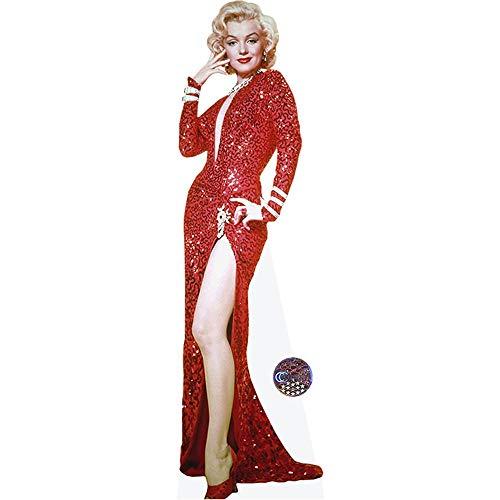 Marilyn Monroe (Red Dress) Life Size Cutout