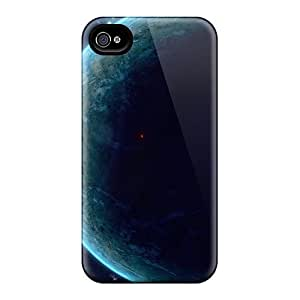 Awesome PYI8629mMoq BebitaDenicofa Defender Hard Cases Covers For Iphone 6plus- Outer Space Planets Digital Art