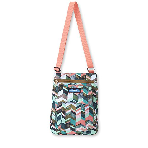 KAVU for Keeps Backpack, Coastal Blocks, One Size