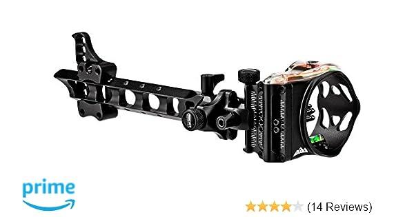 .019 RH 4 Inch Dovetail Bow Sight Black 2019 Black Gold Pro Sight Three Pin
